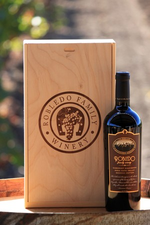 Robledo Collector's Edition 2 Bottle Wooden Box